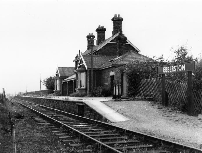 Ebberston Station shortly after closure