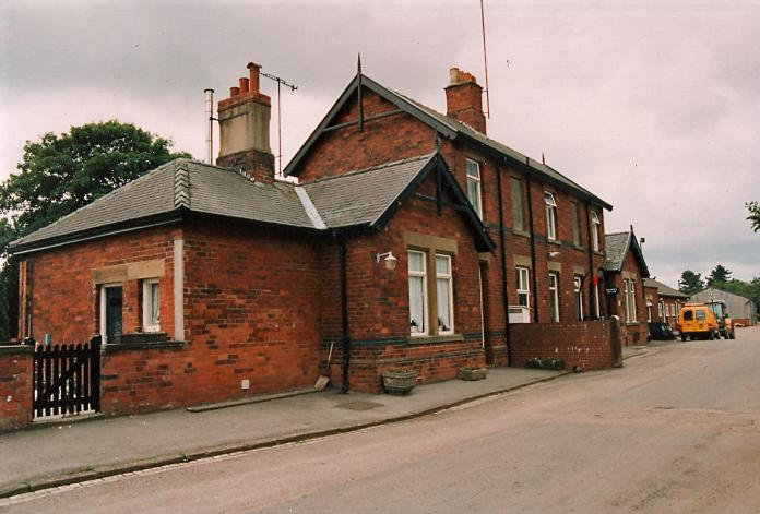 Forge Valley Station in June 1995