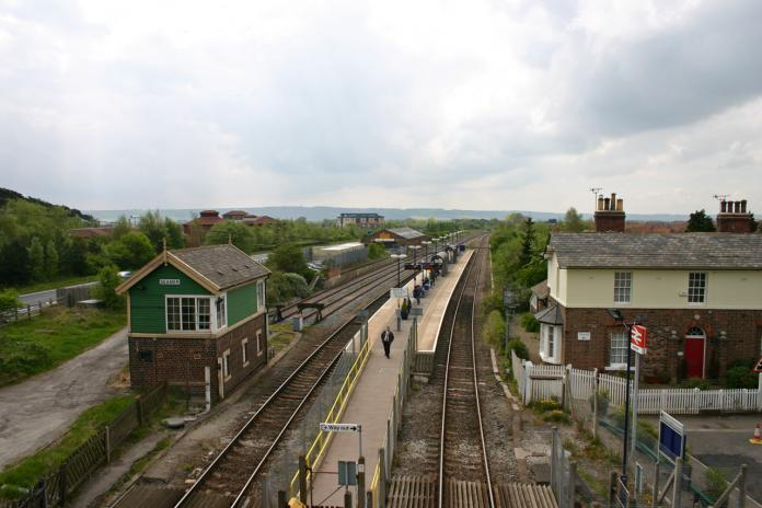 Seamer Station, May 2009