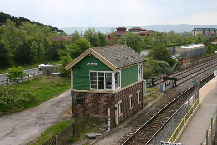 Seamer East Signal Box, May 2009