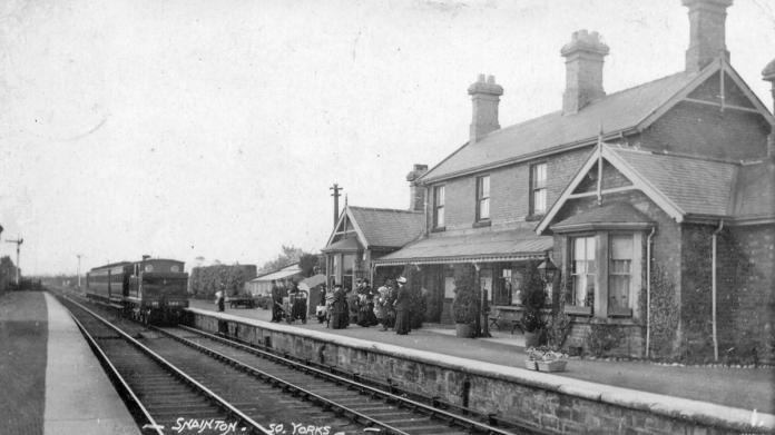 Snainton Station in 1905