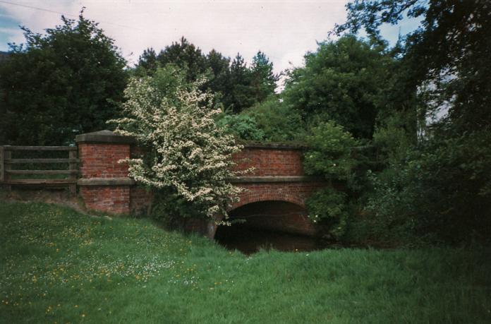 Bridge over Thornton Beck