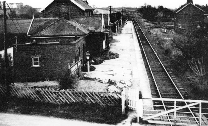 Thornton Dale Station prior to closure to passengers in 1950