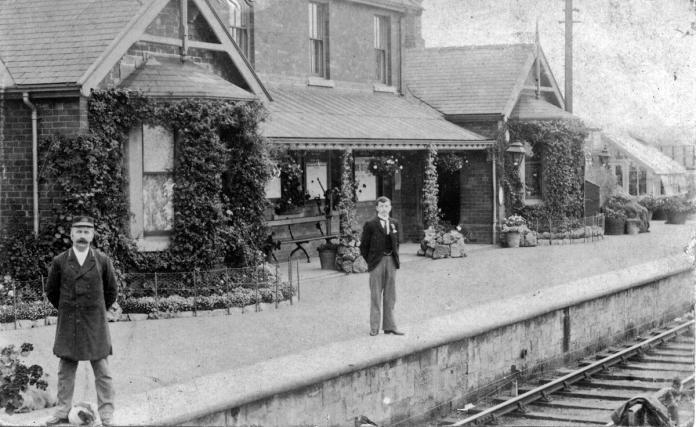 Thornton Dale Station c1905