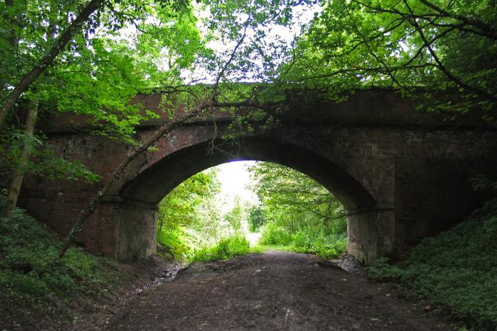Wykeham Lane Bridge, August 2004
