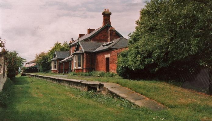 Ebberston Station Today Forge Valley Railway